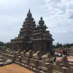 The Shore Temple, Mahabalipuram, Tamil Nadu, early 8th century CE
