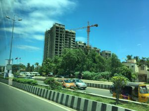New construction of high rise in Chennai
