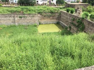 Water tank at Golconda Fort