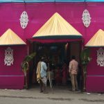 Pop-Up Temple in Hyderabad